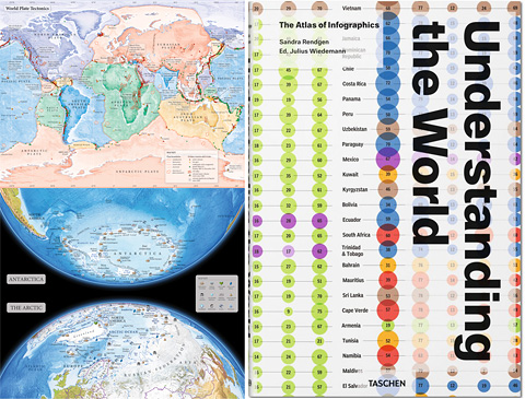 Understanding the World contains maps by Merritt Cartographic